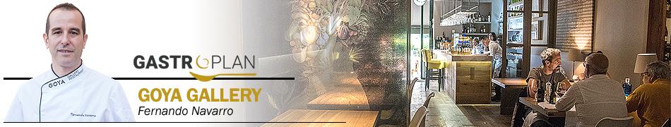 Menu gourmet restaurante Goya Gallery