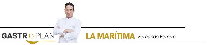 menu gourmet gastroplan maritima