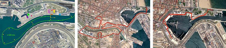 recorridos valencia triatlon