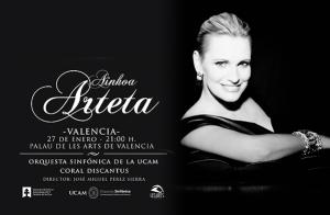 Ainhoa Arteta y Orquesta UCAM, en Valencia