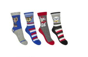 4 packs de calcetines de La Patrulla Canina