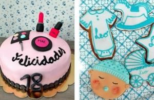 Curso de decoración de cupcakes o tartas fondant