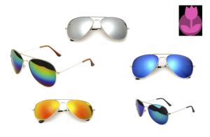 Pack de 5 gafas de sol + funda de regalo