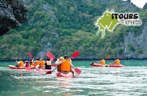 Kayak, espeleo, snorkel, fotos y picnic por 28€