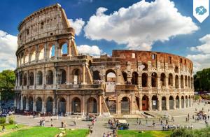 Escapada de vuelo + 3 noches a Roma