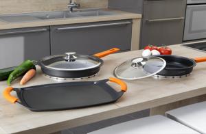 Set de cocina 7 piezas Newcook de aluminio