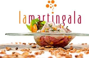 Cena para 2 o 4 personas en La Martingala
