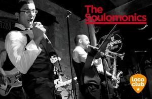 Soul party con The Soulomonics en Loco Club