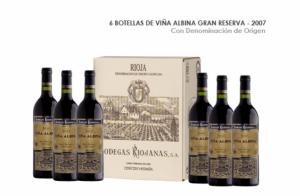6 Botellas de Viña Albina Gran Reserva